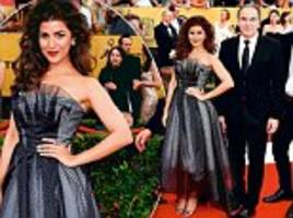 Nimrat Kaur enjoying the limelight after Homeland role as she hobnobs with Hollywood stars